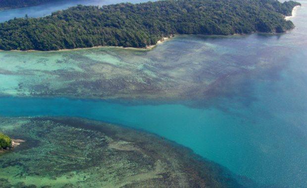Andaman ariel view