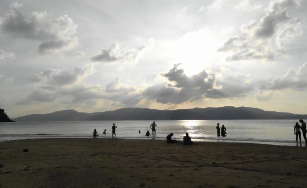 Andaman beach sunset point