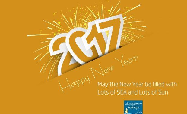 Andaman wish new year